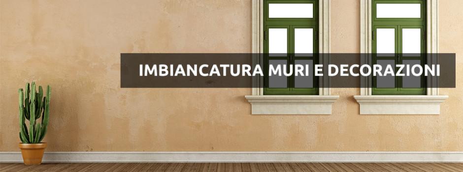 imbiancatura e decorazioni Milano